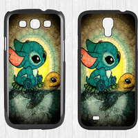 Stitch and Turtle Samsung Galaxy S3 S4 Case,Lilo and Stitch Galaxy S3 S4 Hard Case,Swimming Stitch cover skin Case for Galaxy S3 S4,More