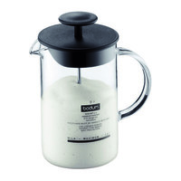 Bodum Latteo 8 oz Milk Frother with Glass Handle