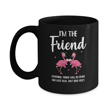 If I Lost Or Drunk Please Return To Friend Flamingo Mug