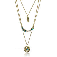 Long Bohemian Multilayer Necklace