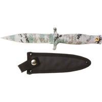 Rampant™ Fixed Blade Digital Camo Coated Hunting Knife