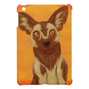 African Wild Dog Cover For The iPad Mini