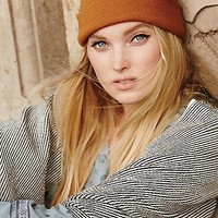Free People Womens Compass Cuff Beanie