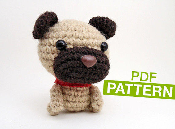 Amigurumi Wiener Dog Pattern : Shop crochet dog pattern on wanelo