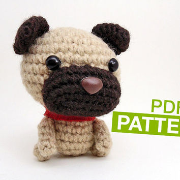 Shop Crochet Dog Pattern on Wanelo