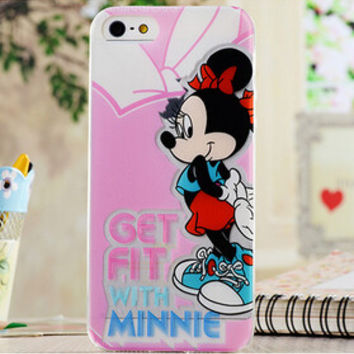 Minnie Mouse Iphone 5 5s Cover Pink