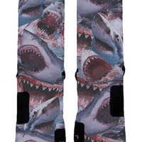 Ok Sock | Shark Attacks Elites - Nike Elites