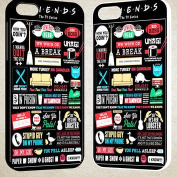 Friends TV Show F0791 iPhone 4S 5S 5C 6 6Plus, iPod 4 5, LG G2 G3, Sony Z2  Case