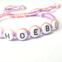 Personalized bracelet, Name Bracelet, Friendship Bracelet