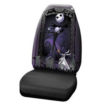 Nightmare Before Christmas Graveyard Seat Cover