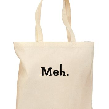 Meh Grocery Tote Bag