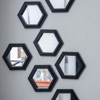 ModCloth Dorm Decor Geometric Makeover Wall Mirror Set