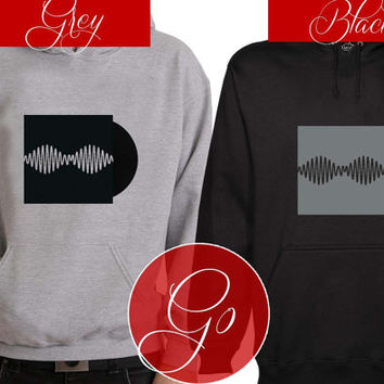 Arctic Monkeys art Hoodie Sweatshirt Sweater Shirt black and white Unisex