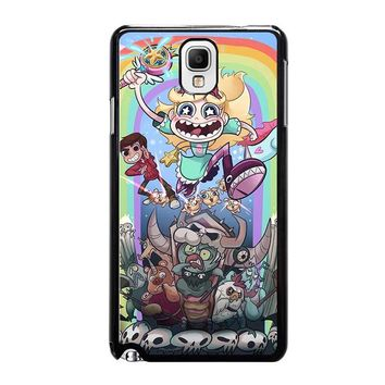 DISNEY STAR VS THE FORCE OF EVIL Samsung Galaxy Note 3 Case Cover