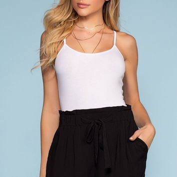 Desert Oasis Shorts - Black