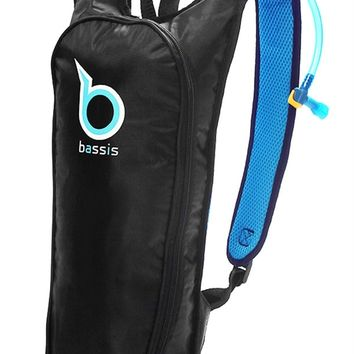 Blue Bassis Hydration Pack : Festival Approved Light Water Backpack