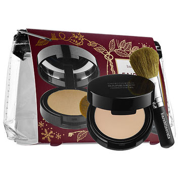 bareMinerals Fairytale Finish Mini bareSkin® Perfecting Veil & Brush Duo