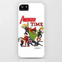Avenger Time! iPhone Case by ArtisticCole | Society6