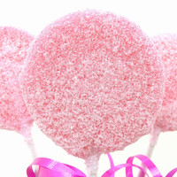 Pink Sugar Lollipop - not too sweet - but oh-so-gorgeous