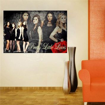 W620F74 Custom Pretty little liars Canvas Painting Wall Silk Poster cloth print DIY Fabric Poster FW#-68