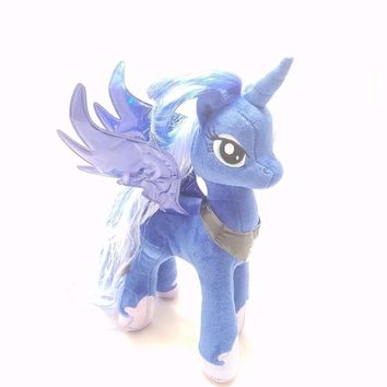 "NEW 2016 Princess Luna Ty My Little Pony 8"" Plush MLP"