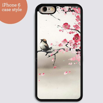 iphone 6 cover,Spring Swallow pink flowers iphone 6 plus,Feather IPhone 4,4s case,color IPhone 5s,vivid IPhone 5c,IPhone 5 case Waterproof 476