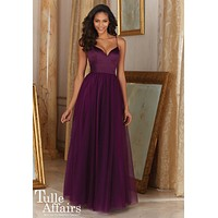 Morilee Bridesmaids 153 Tulle Floor Length Bridesmaids Dress
