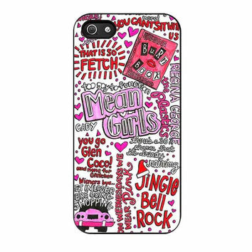 one direction mean girl lyrics cases for iphone se 5 5s 5c 4 4s 6 6s plus