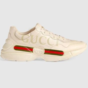 HCXX Gucci Rhyton Trainer - Red Green
