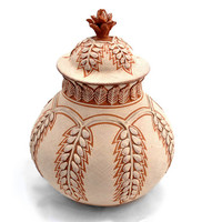 Jug of Clay with Seeds