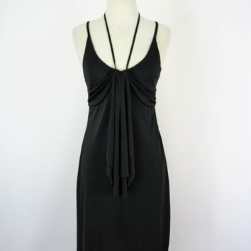 Armani Exchange Slinky 70's Style Michelle Pfeiffer Cocktail Dress S