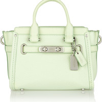 Coach | Swagger 20 mini textured-leather tote | NET-A-PORTER.COM
