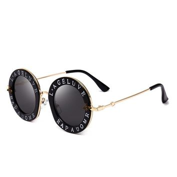 2018 Fashion brand designer women sunglasses men steampunk sunglass vintage glasses retro oculos round sunglasses gafas de sol