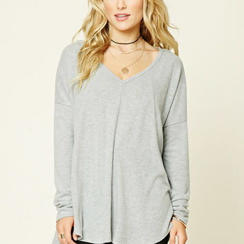 Longline Fleece Top