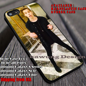 Luke hemmings in australian embassy, 5sos, 5 Second of Summer, case/cover for iPhone 4/4s/5/5c/6/6+/6s/6s+ Samsung Galaxy S4/S5/S6/Edge/Edge+ NOTE 3/4/5 #music #5sos ii