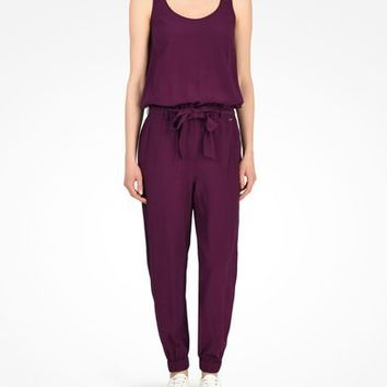 Armani Exchange STRAPPY TIE WAIST JUMPSUIT, Jumpsuits for Women - A|X Online Store