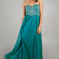 Dave and Johnny Prom Dress with Removable Straps