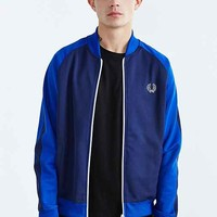 Fred Perry Bomber Track Jacket- Navy
