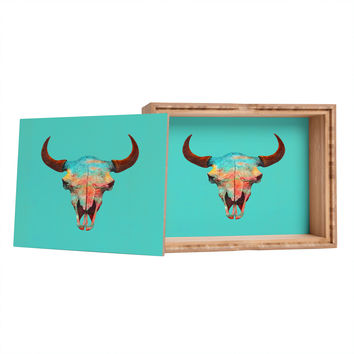Terry Fan Turquoise Sky Jewelry Box