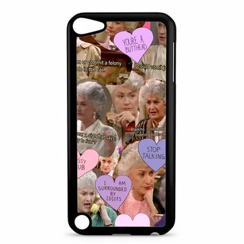 The Golden Girl Collage iPod Touch 5 Case