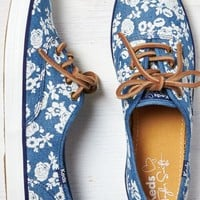 AEO Women's Keds Champion Floral Sneaker (Floral)