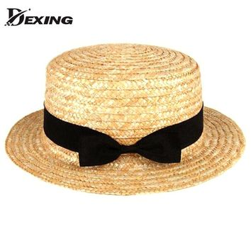 29f19e045088bc [Dexing] fashion flat straw hat summer hats for women Contracte