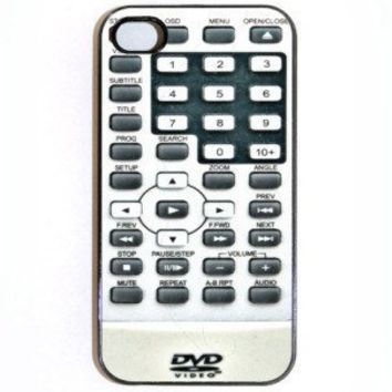 iPhone 4 4s CaseDVD Remote Hard Case Comes in Black by KustomCases