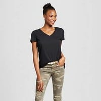Women's Short Sleeve Relaxed V-Neck Tee - Mossimo Supply Co.™