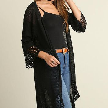 Umgee Sweater Cardigan Duster