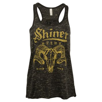 Shiner Ladies Vintage Ram Tank Top