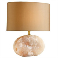 Arteriors Home Beaumont Snow Marble Oval Accent Lamp - Arteriors Home 49916-518