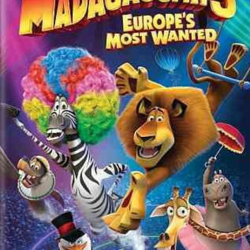 Madagascar 3-Europes Most Wanted (Dvd)