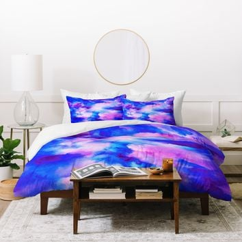 Jacqueline Maldonado Someday Some Sky Duvet Cover