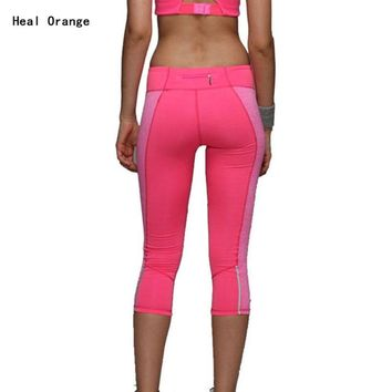2016 Women Yoga Pants Sport Fitness Running Tights
